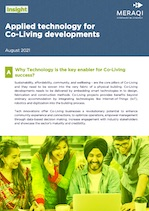 Applied technology for Co-Living developments