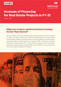 Avenues of Financing for Real Estate Projects in FY-21