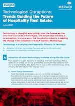 Technological Disruptions: Trends Guiding the Future of Hospitality Real Estate