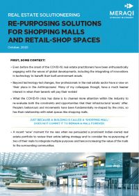Real Estate Solutioneering : Re-Purposing Solutions for Shopping Malls and Retail-Shop Spaces