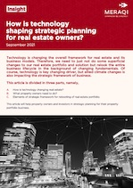 How Technology is shaping strategic planning for real estate owners
